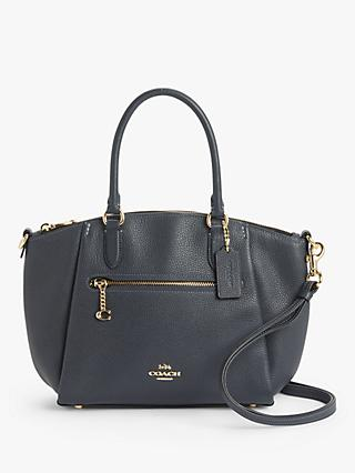 Coach Elise Leather Satchel Bag