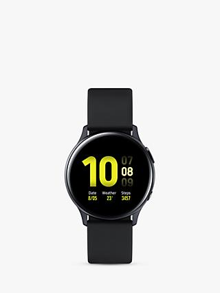 Samsung Galaxy Watch Active 2, Bluetooth, 40mm, Aluminium with Silicone Strap