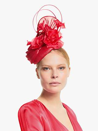 Snoxells Cesca Side Disc Rose and Loop Occasion Hat
