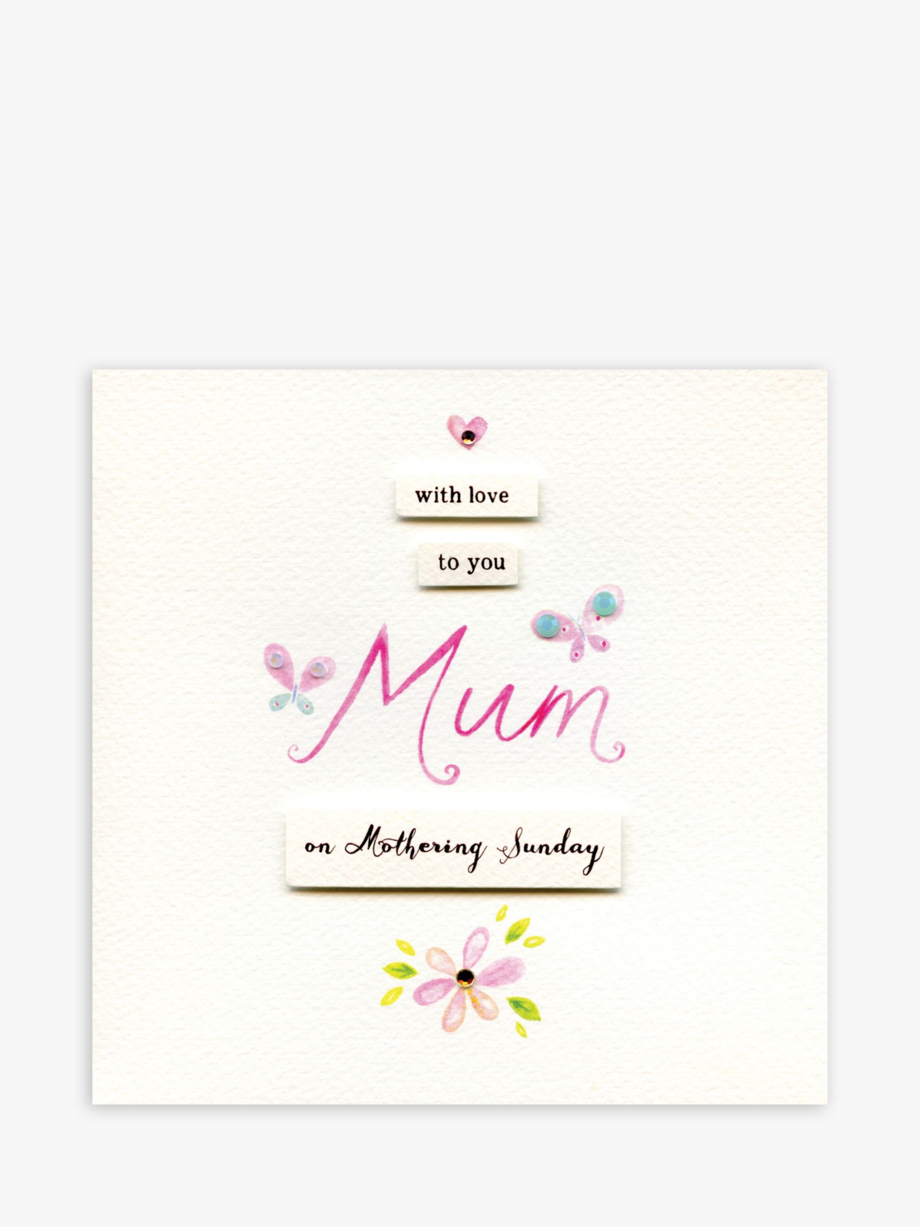 Blue Eyed Sun Blue Eyed Sun With Love to Mum Mother's Day Card