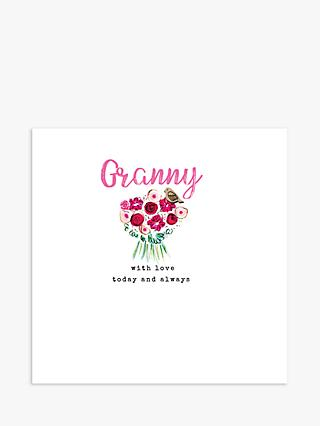 Laura Sherratt Designs Granny With Love Mother's Day Card