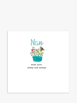 Laura Sherratt Designs Nan With Love Mother's Day Card