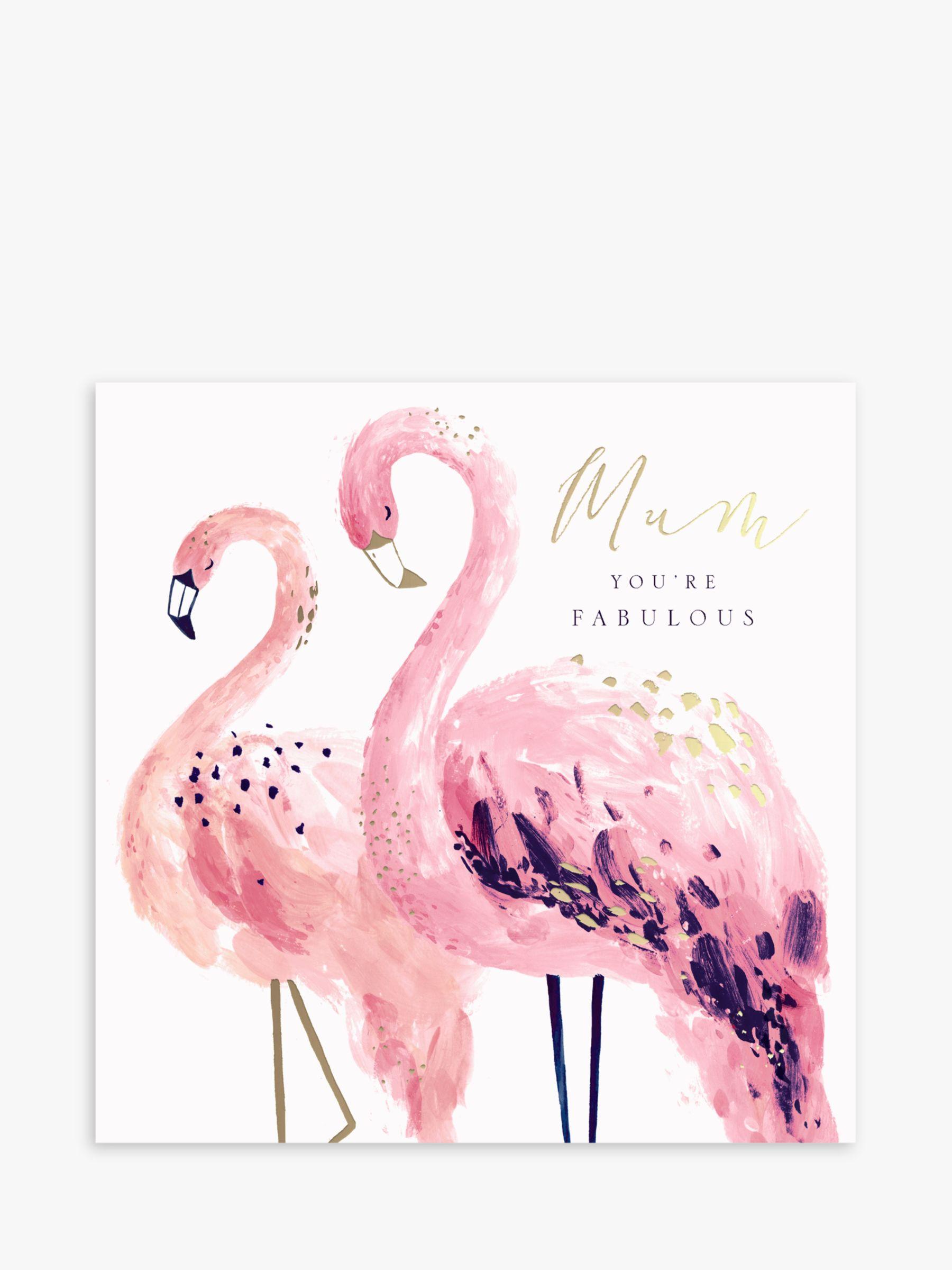 Hotchpotch Hotchpotch Fabulous Flamingos Mother's Day Card