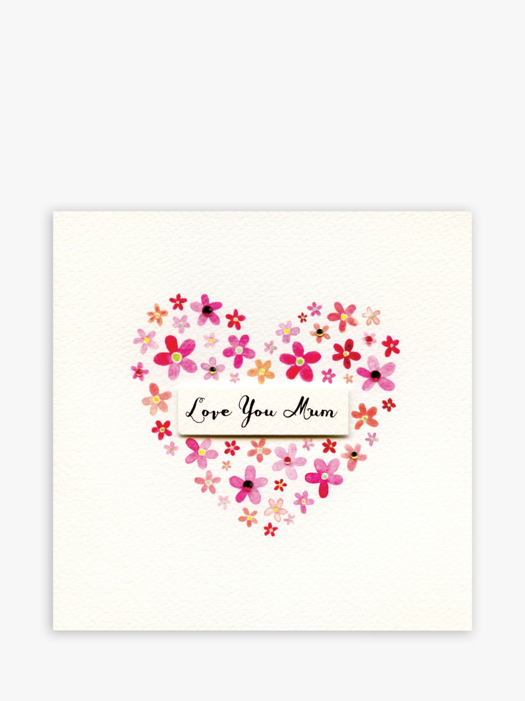 Blue Eyed Sun Blue Eyed Sun Love You Mum Mother's Day Card