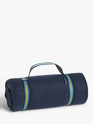 House by John Lewis Picnic Rug, Blue