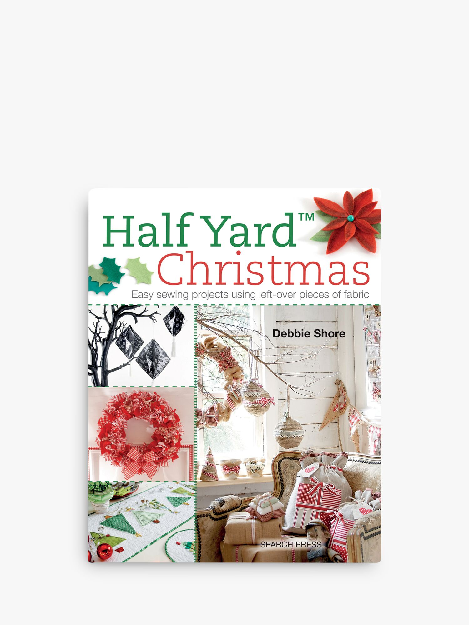 Search Press Search Press Half Yard Christmas and Sew Advent Calendars Book Bundle