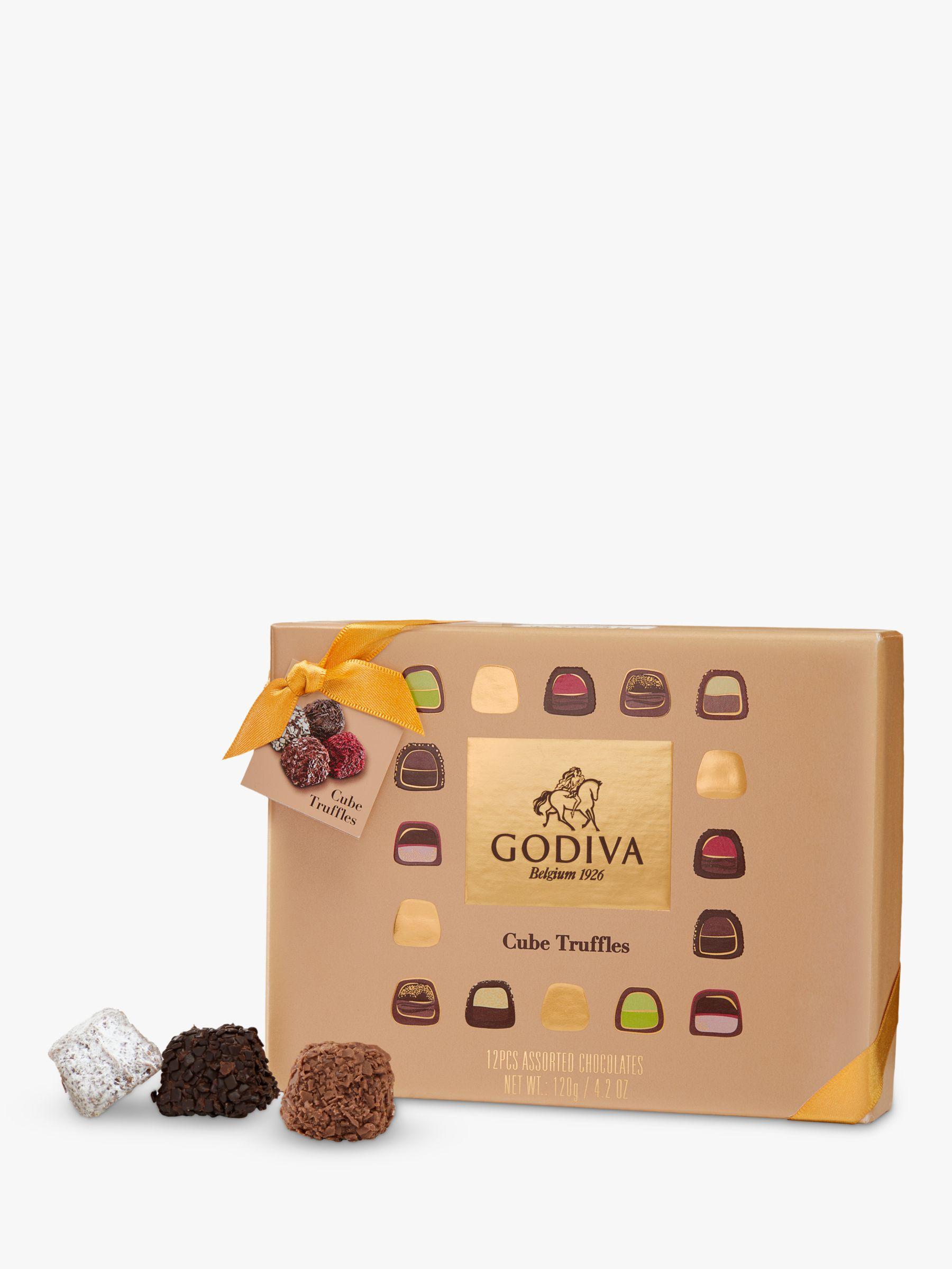 Godiva Godiva Cube Truffles, 12 Pieces, 120g