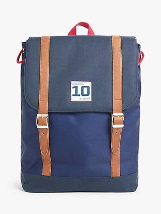 John Lewis & Partners Colour Block Children's Backpack