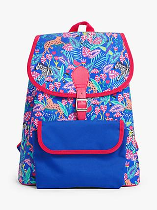 John Lewis & Partners Tropical Print Children's Backpack
