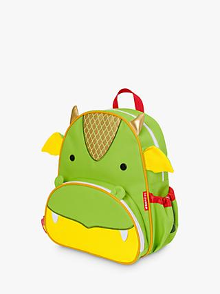 Skip Hop Zoo Dragon Children's Backpack, Green