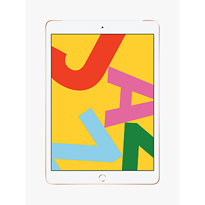 Image of 2019 Apple iPad 10.2, A10, iPadOS, Wi-Fi & Cellular, 128GB