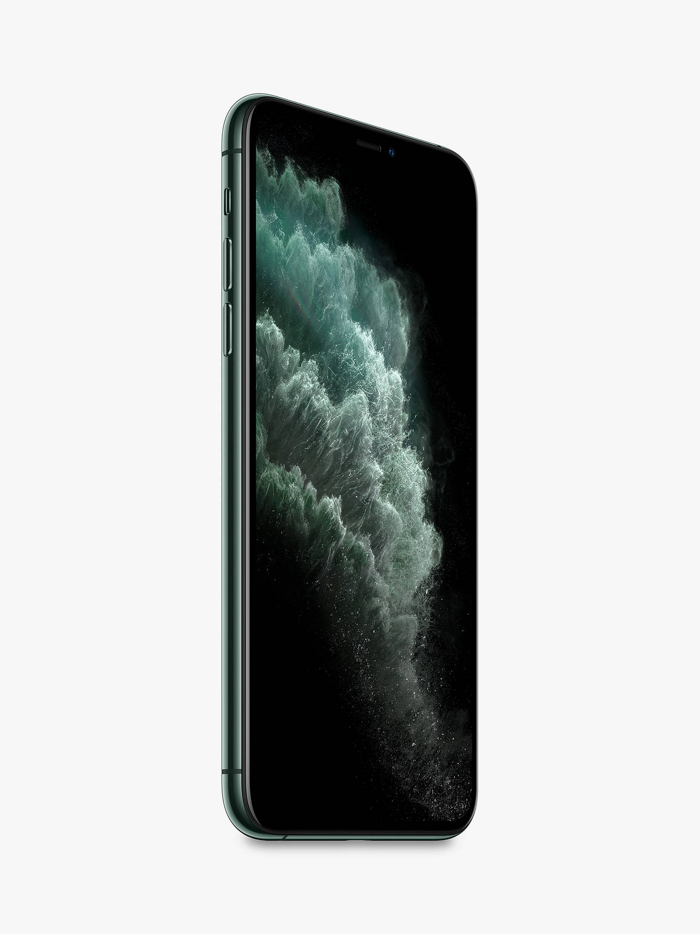 "Buy Apple iPhone 11 Pro Max, iOS, 6.5"", 4G LTE, SIM Free, 512GB, Midnight Green Online at johnlewis.com"
