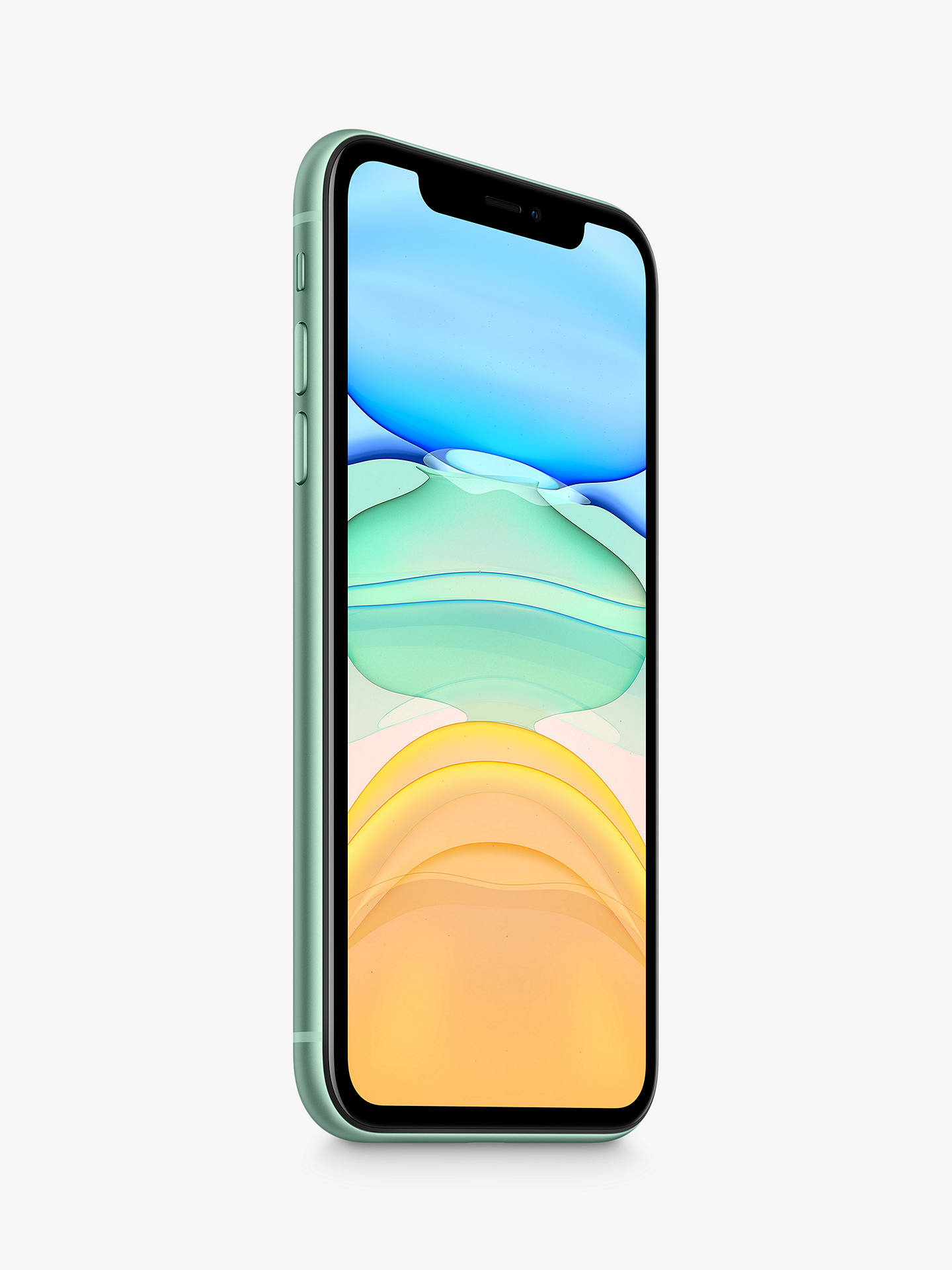 "Buy Apple iPhone 11, iOS, 6.1"", 4G LTE, SIM Free, 64GB, Green Online at johnlewis.com"
