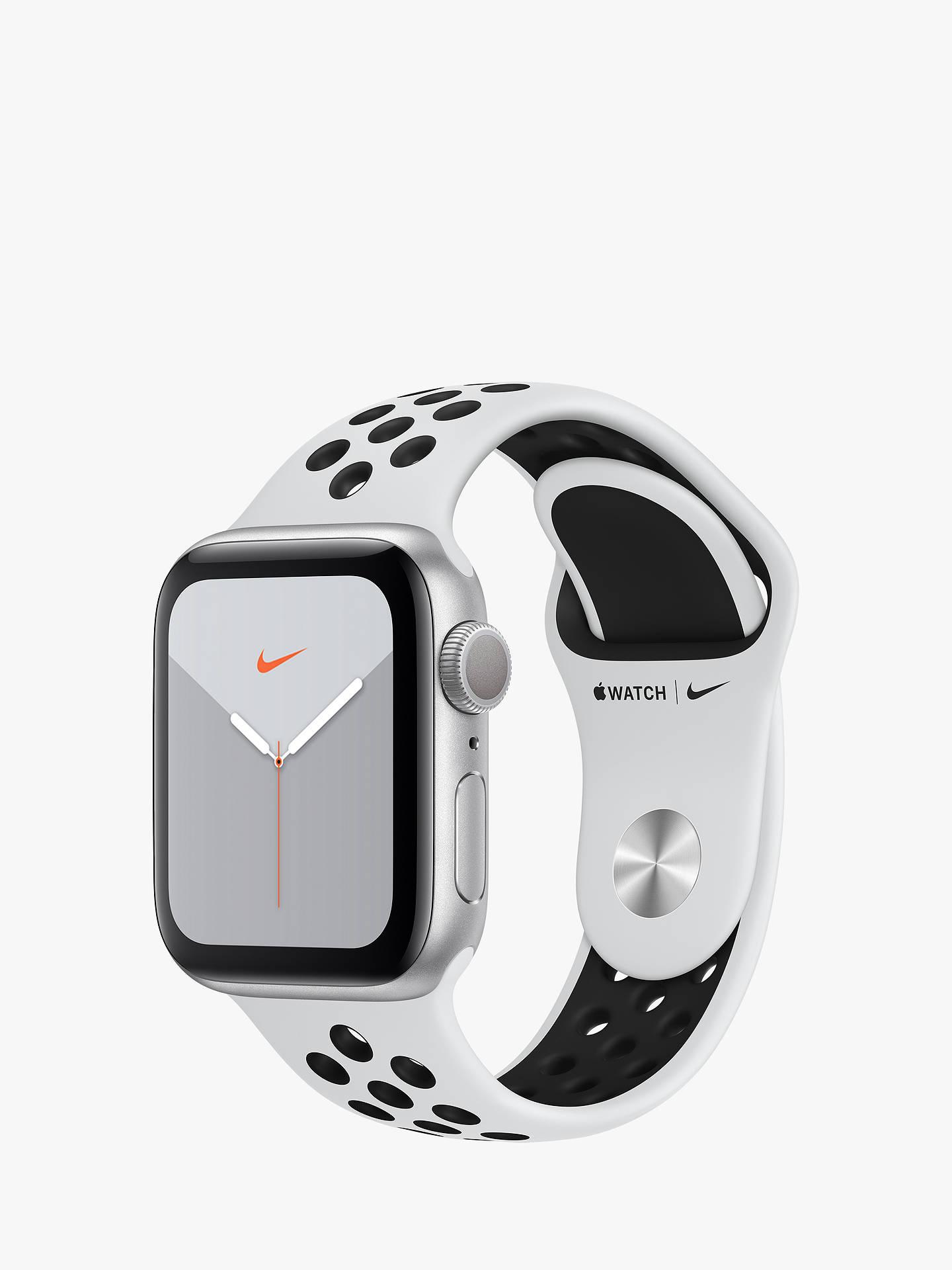 Apple Watch Nike Series 5 GPS, 40mm Silver Aluminium Case ...