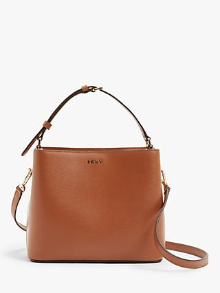 DKNY Leather Bucket Bag