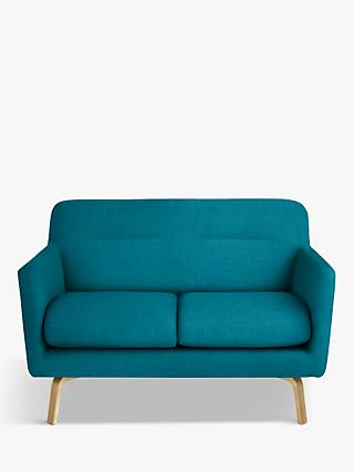 John Lewis & Partners Archie II Small 2 Seater Sofa, Light Leg