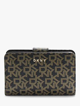 DKNY Bryant Logo Purse, Ebony/Black