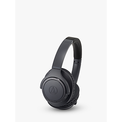 Image of Audio-Technica ATH-SR30BT Wireless Bluetooth Over-Ear Headphones with Mic/Remote, Black