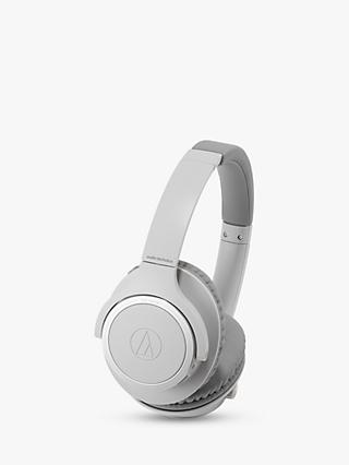Audio-Technica ATH-SR30BT Wireless Bluetooth Over-Ear Headphones with Mic/Remote, Grey