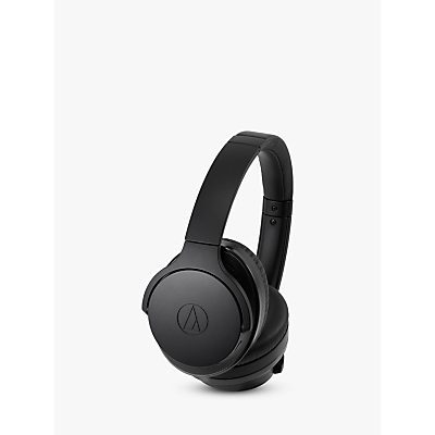 Image of Audio-Technica ATH-ANC900BT Noise-Cancelling Wireless Bluetooth Over-Ear Headphones with Mic/Remote, Black