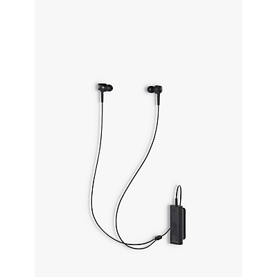 Image of Audio-Technica ATH-ANC100BT Active Noise-Cancelling Wireless Bluetooth In-Ear Headphones with Mic/Remote, Black