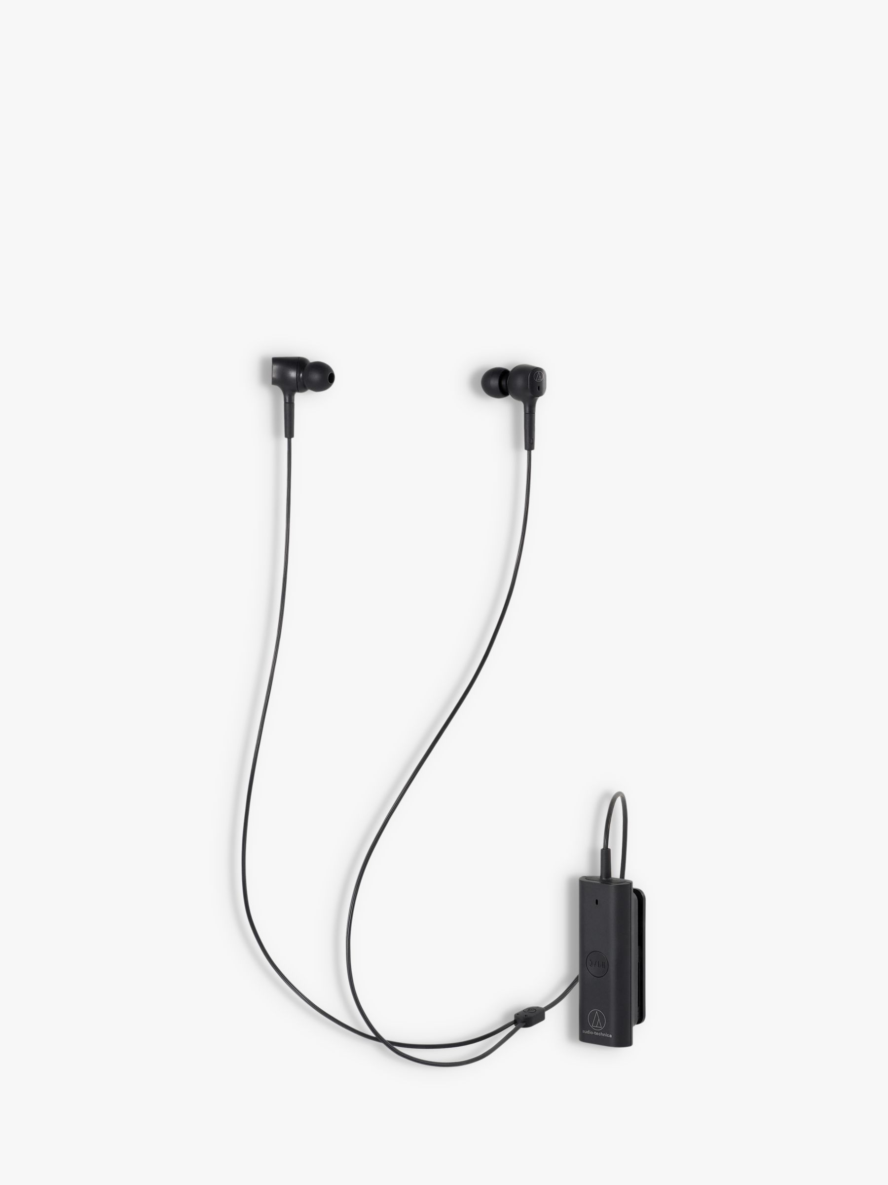 Audio-Technica Audio-Technica ATH-ANC100BT Active Noise-Cancelling Wireless Bluetooth In-Ear Headphones with Mic/Remote, Black