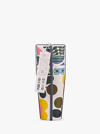 Orla Kiely Flower Bamboo Tumblers, Set of 4, 400ml, Multi