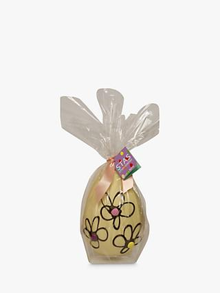 Stas Chocolatier White Chocolate Flower Easter Egg, 300g