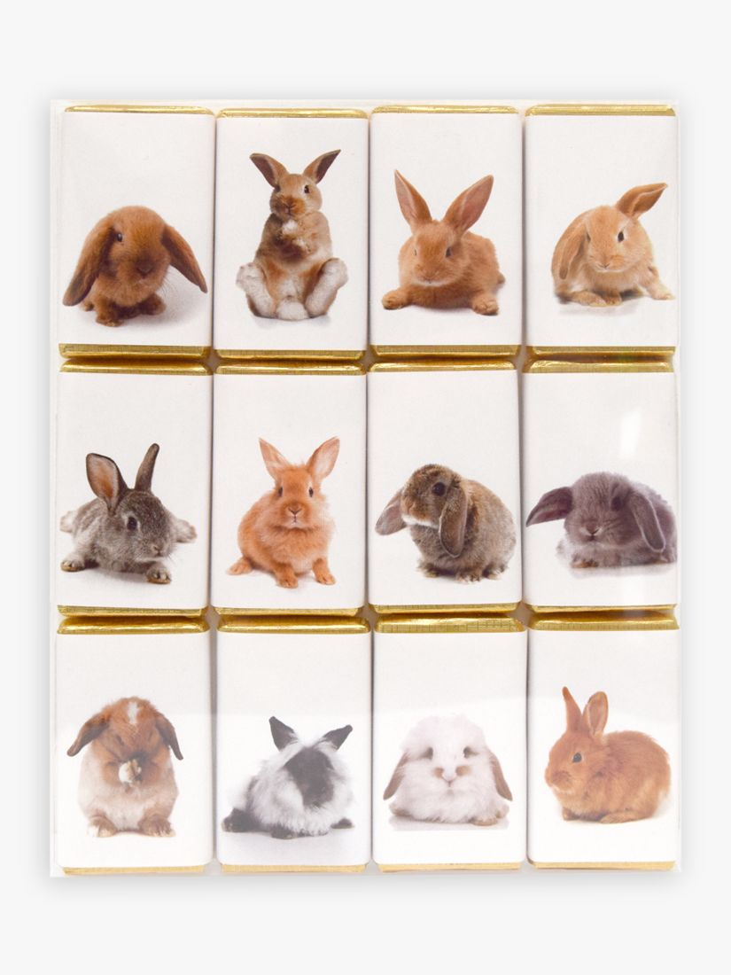 House of Dorchester House of Dorchester Rabbit Milk Chocolate Slims, Pack of 12, 120g