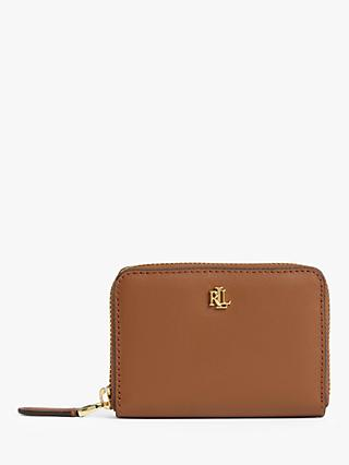 Lauren Ralph Lauren Small Leather Zip Around Wallet