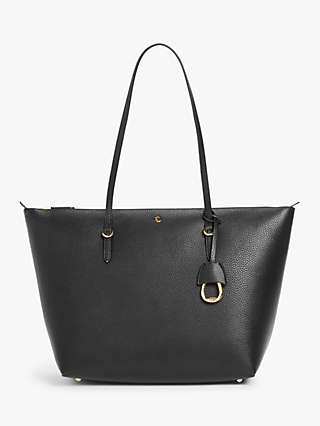 Lauren Ralph Lauren Keaton 31 Tote Bag, Black