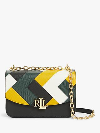 Lauren Ralph Lauren Madison 22 Leather Cross Body Bag, Multi