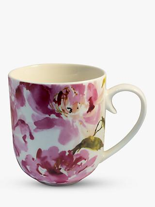Kelly Ventura Peonies Mug, 250ml, Pink