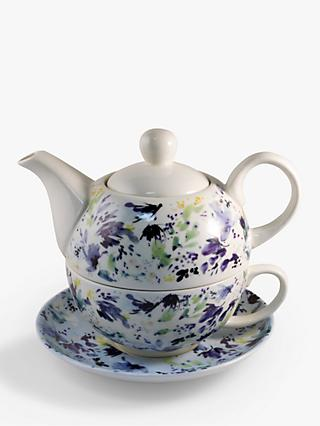 Kelly Ventura Hillside tea-For-One Teapot, 320ml, Multi