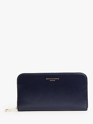Aspinal of London Leather Continental Clutch Zip Purse