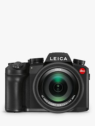 "Leica V-Lux 5 Compact Camera with 25-400mm Lens, 4K Ultra HD, 20MP, Wi-Fi, Bluetooth, OLED EVF, 3"" Vari-angle Touch Screen"