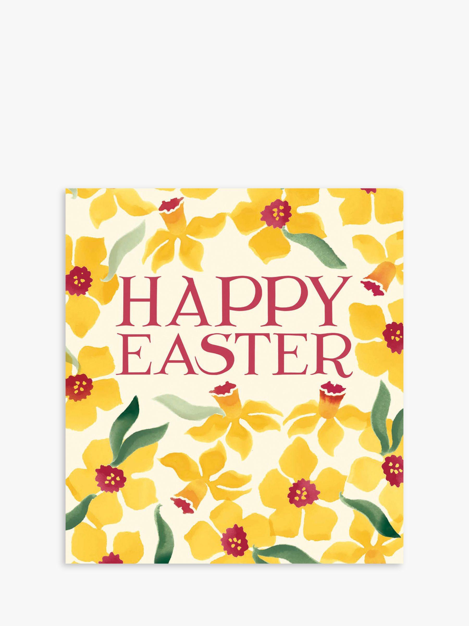 Woodmansterne Woodmansterne Daffodils Easter Cards, Pack of 5