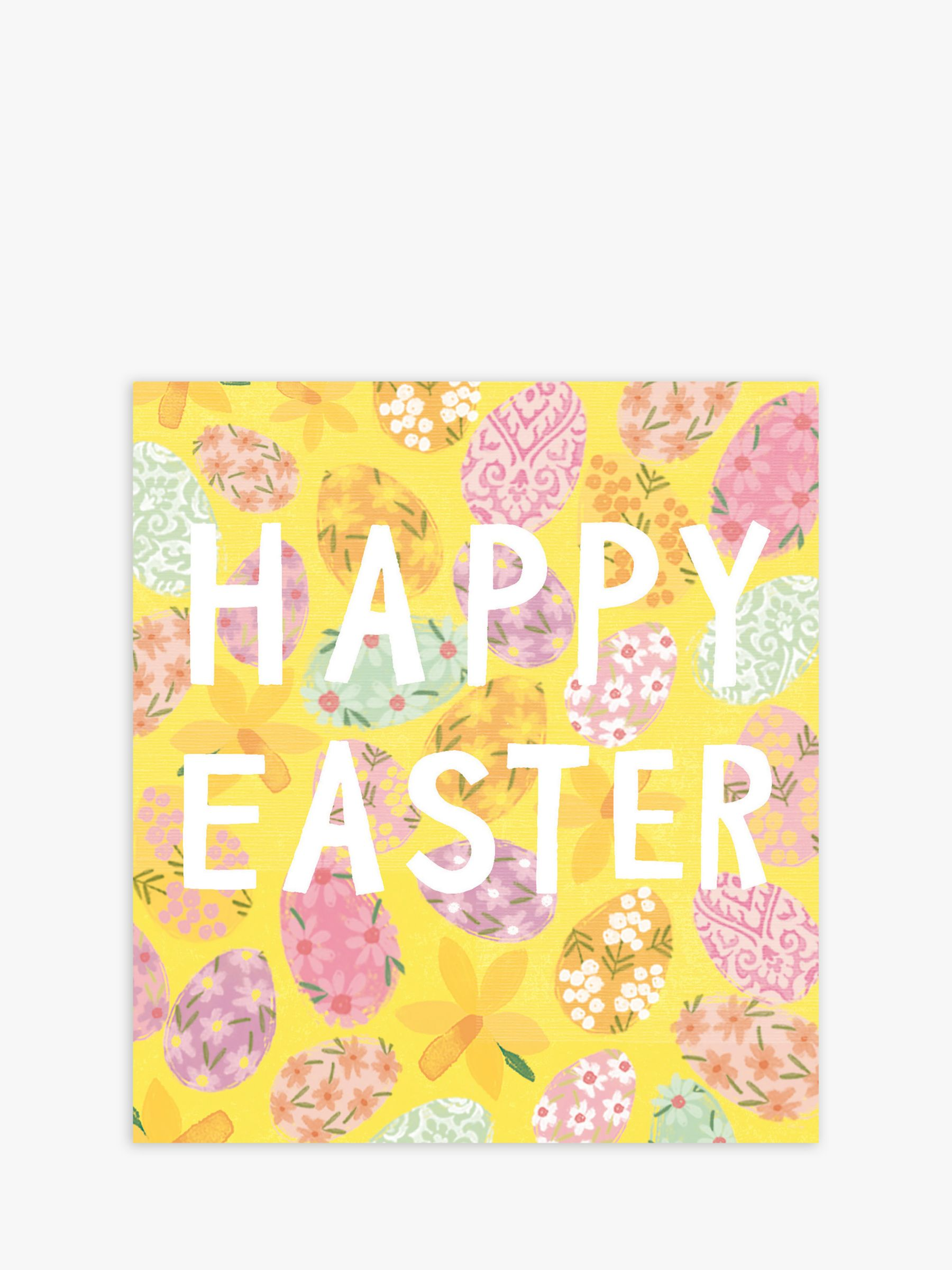 Cardmix Cardmix Eggs & Flowers Easter Cards, Pack of 5