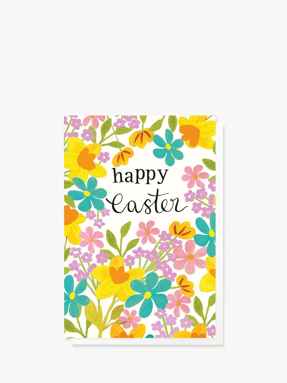 Caroline Gardner Caroline Gardner Floral Easter Cards, Pack of 10