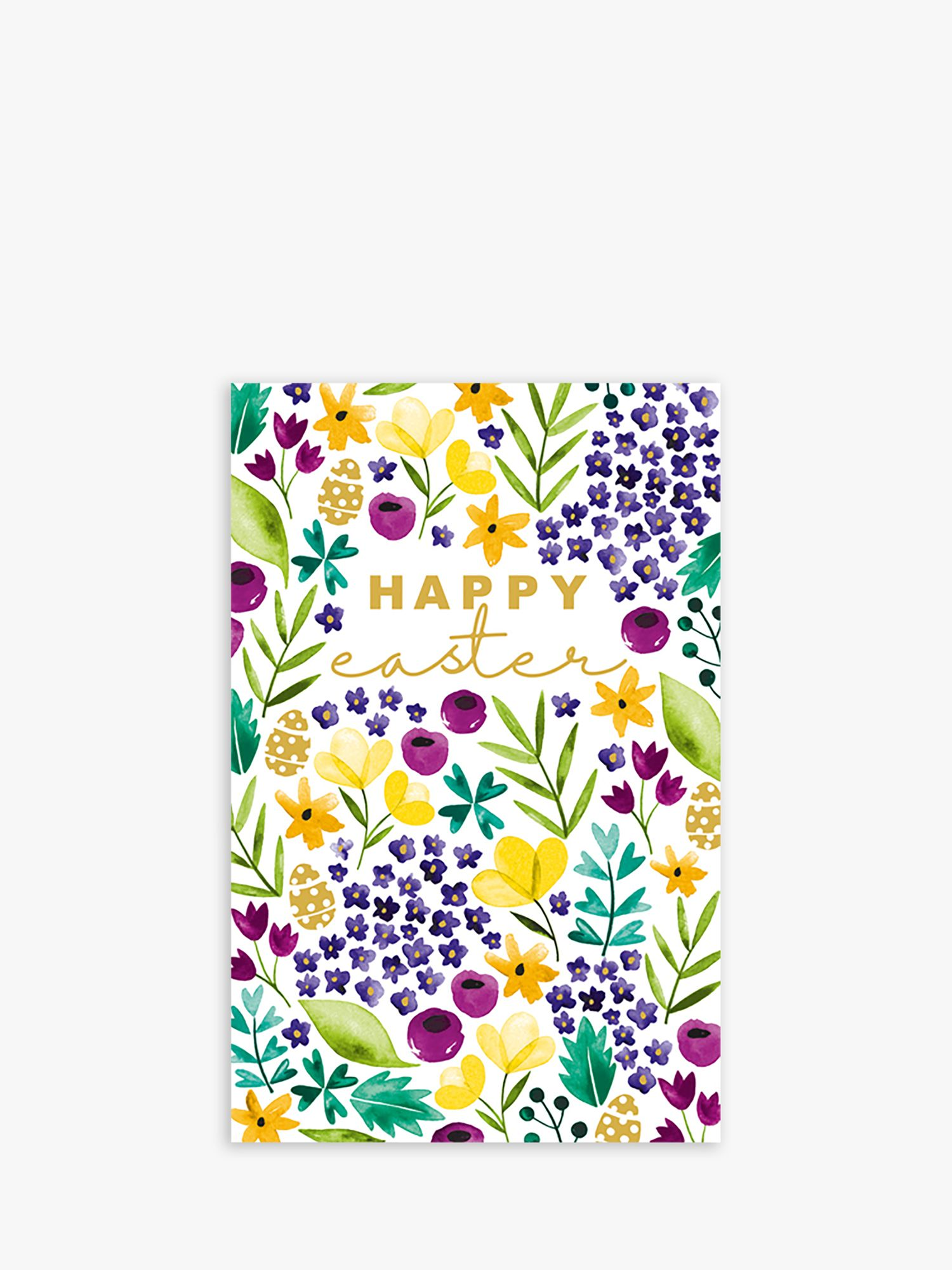 Art File Art File Floral Easter Cards, Pack of 6