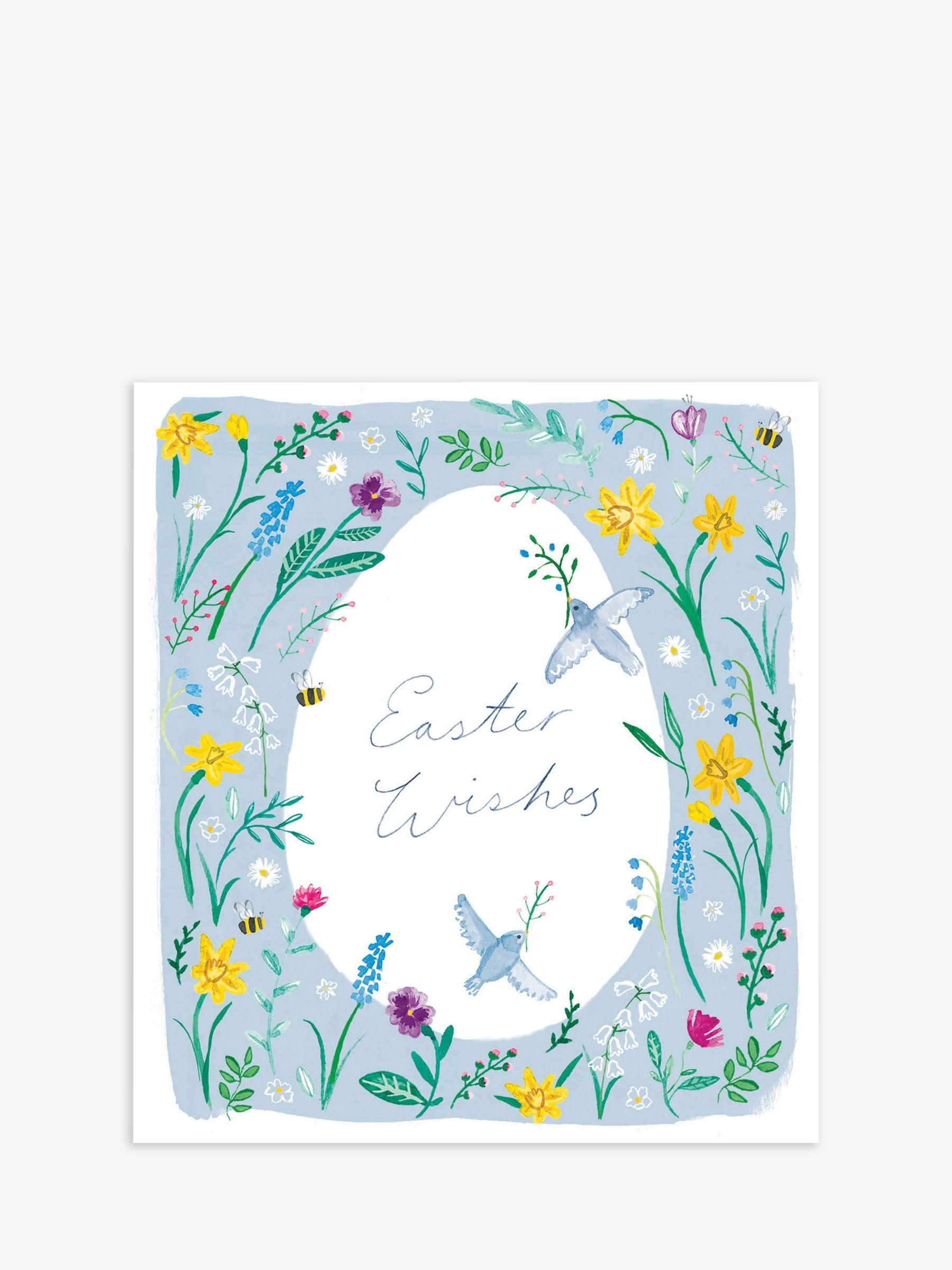 Cardmix Cardmix Birds Easter Cards, Pack of 5