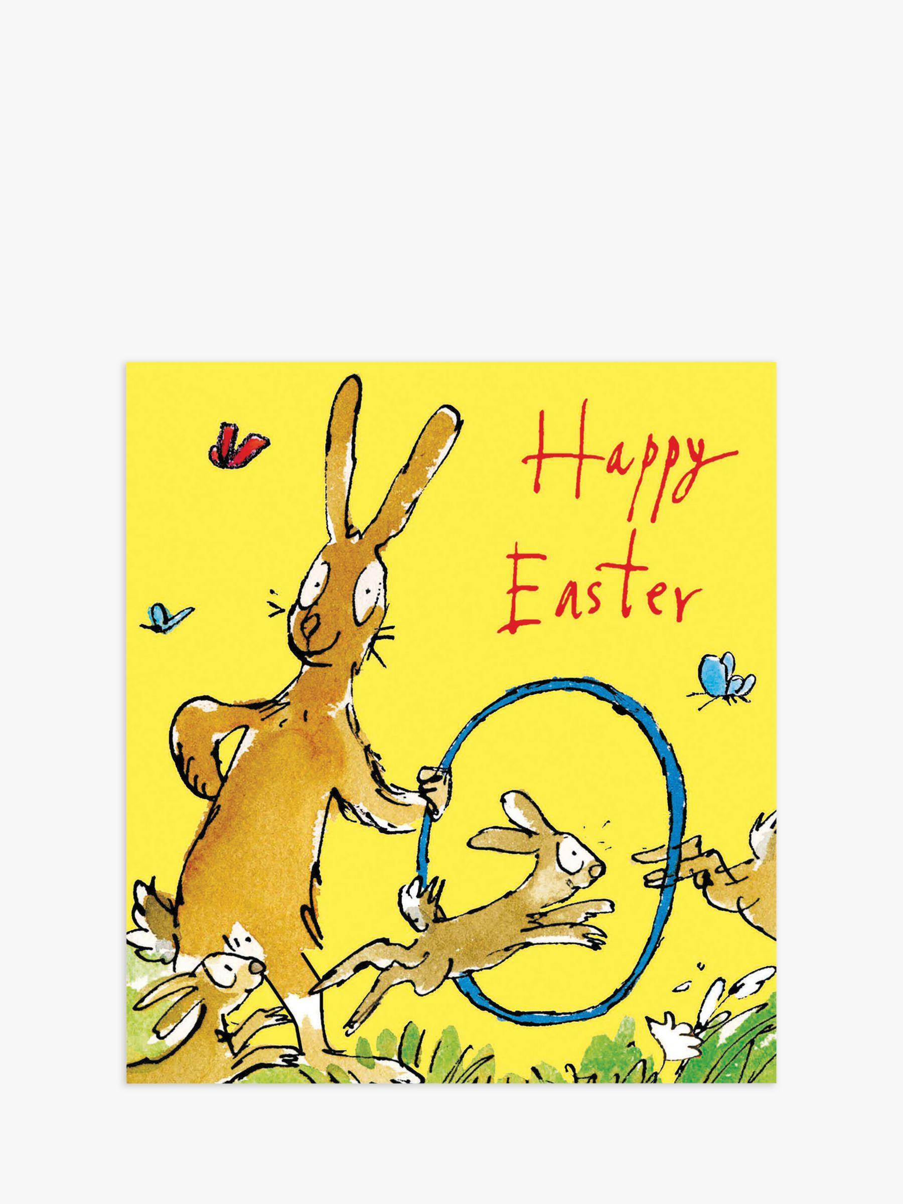 Woodmansterne Woodmansterne Bunnies Easter Cards, Pack of 5