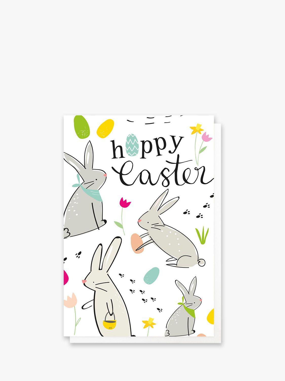 Caroline Gardner Caroline Gardner Rabbits Easter Cards, Pack of 10