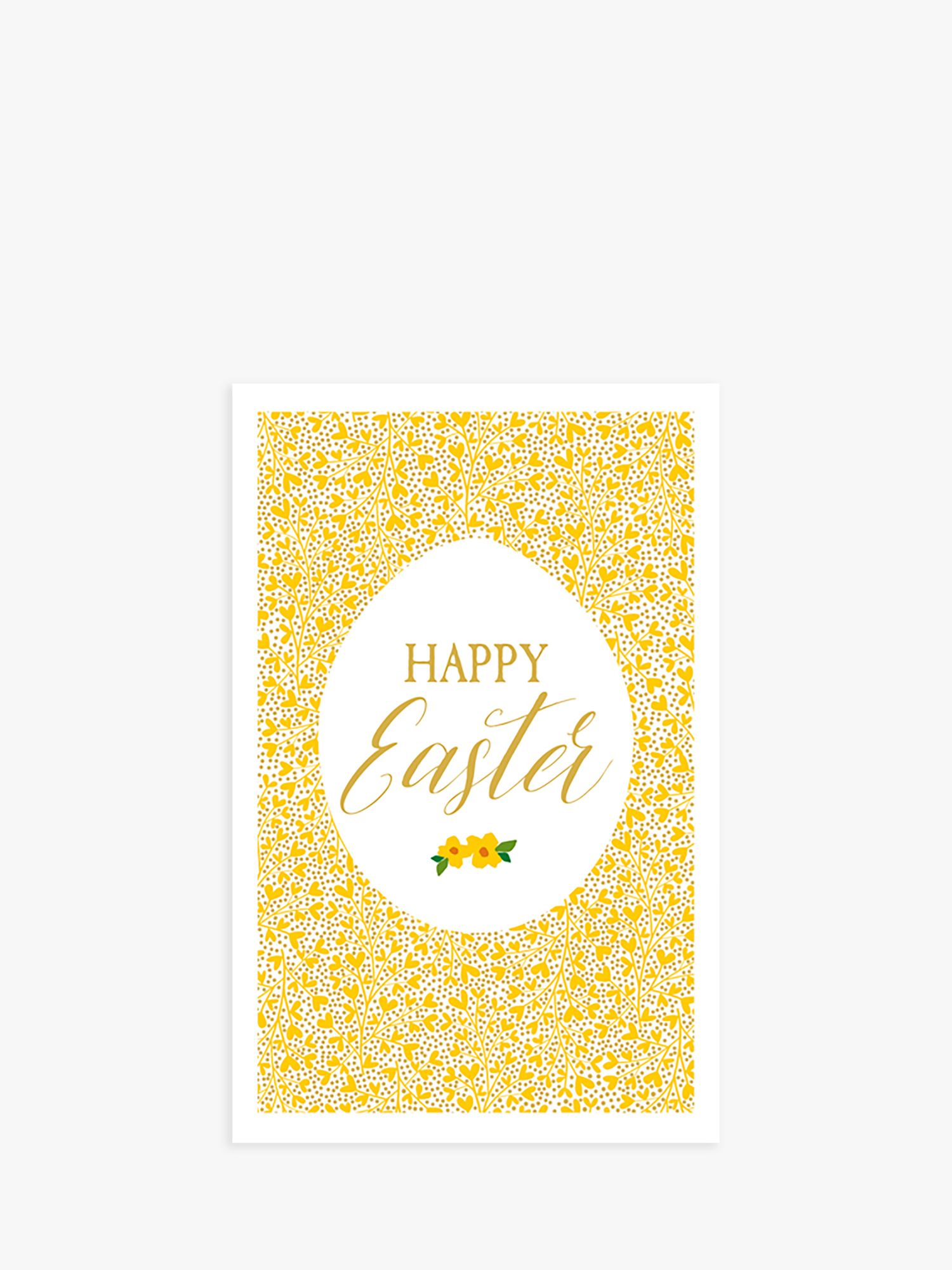 Art File Art File Ditsy Egg Easter Cards, Pack of 6