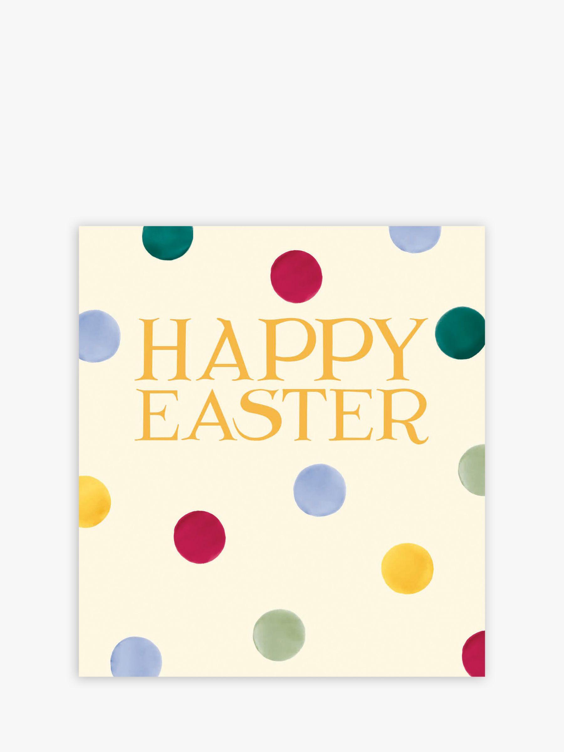 Woodmansterne Woodmansterne Polka Dot Easter Cards, Pack of 5
