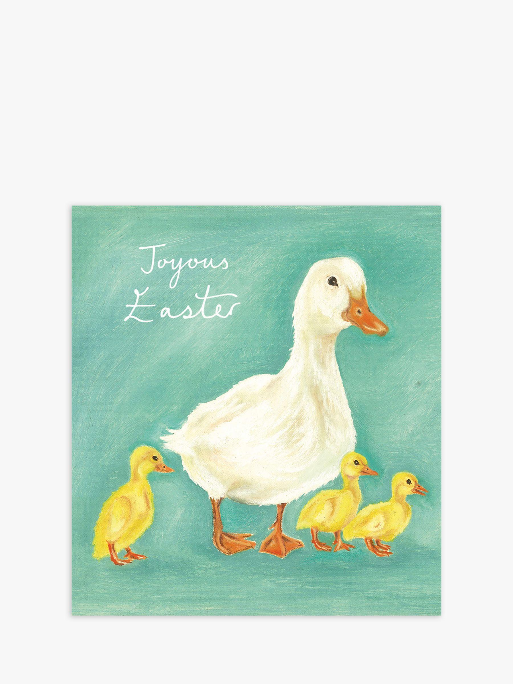 Woodmansterne Woodmansterne Ducklings Joyous Easter Cards, Pack of 5