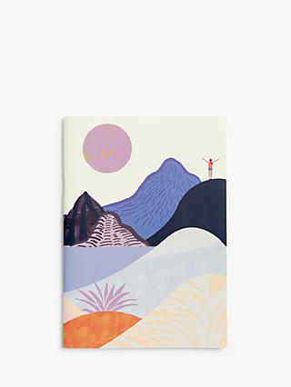 John Lewis & Partners A4 Abstract Mountains Notebook