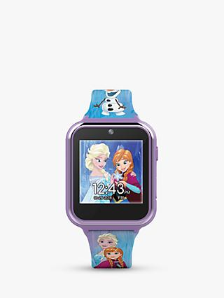 Disney Frozen FZN4151 Children's Interactive Silicone Strap Watch, Purple