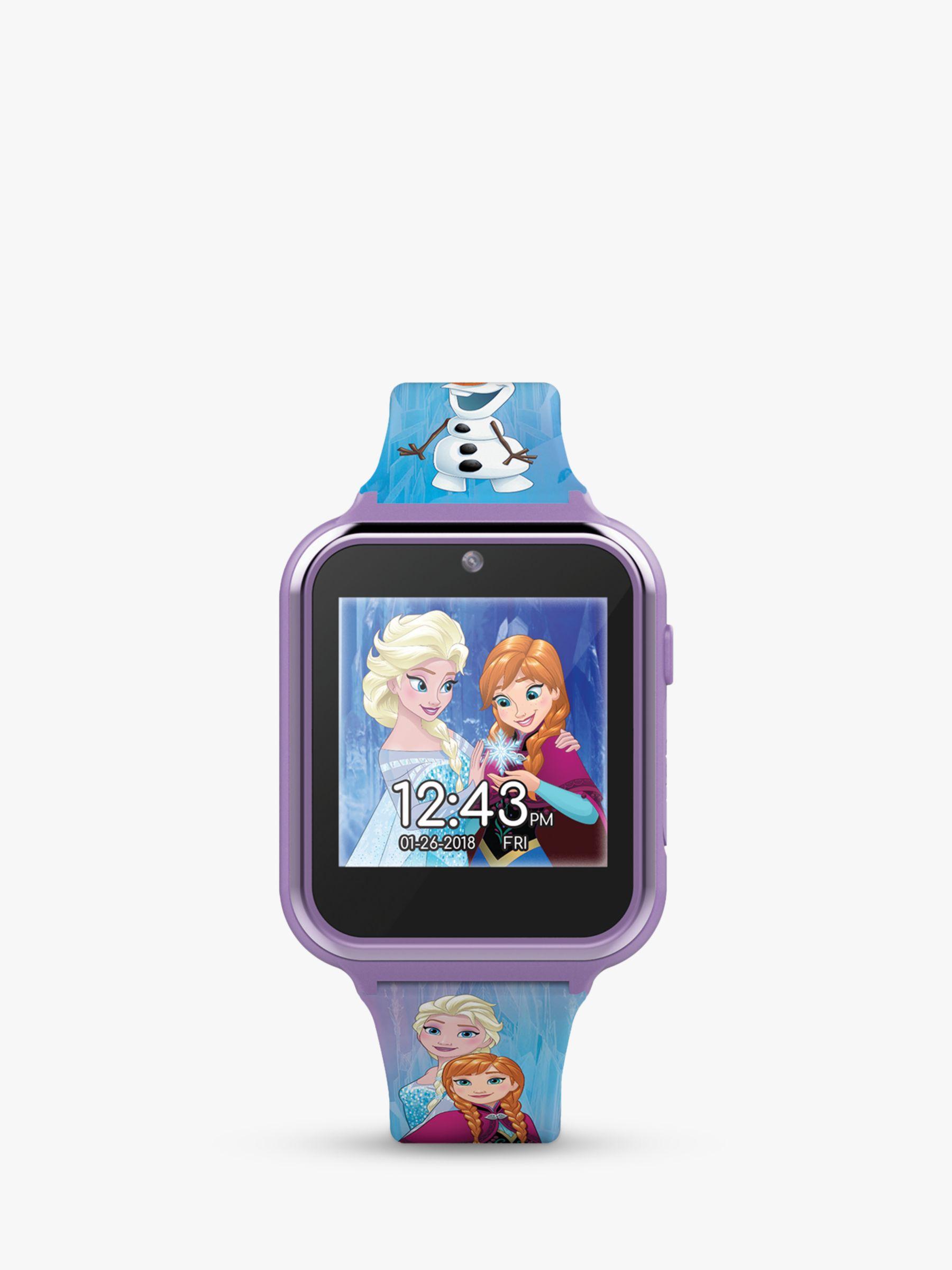 Disney Disney Frozen FZN4151 Children's Interactive Silicone Strap Watch, Purple