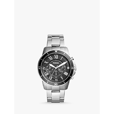 Product photo of Fossil fs5236 men s bracelet strap watch silver